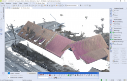 Drohnenvermessung Punktwolke