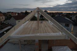 Luftbild - Dachstuhl